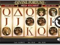 divine fortune touchでジャックポットがでました!3,750万円おめでとうございます!